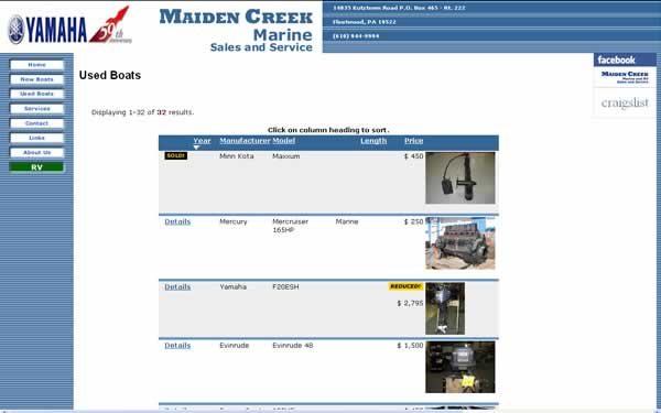 Maiden Creek Marine and RV Sales thumbnail