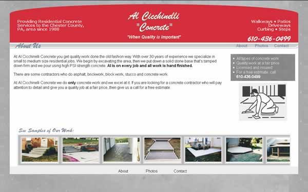 Al Cicchinelli Concrete thumbnail